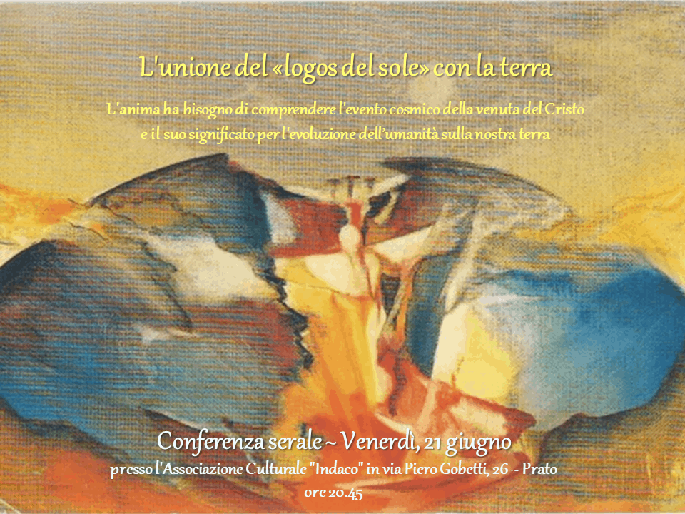L'UNIONE DEL LOGOS DEL SOLE CON LA TERRA ( CONFERENZA SERALE E GIORNATA DI COSTELLAZIONI SPIRITUALI)